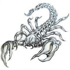 Temporary Tattoo - Scorpion Large Temporary Tattoo