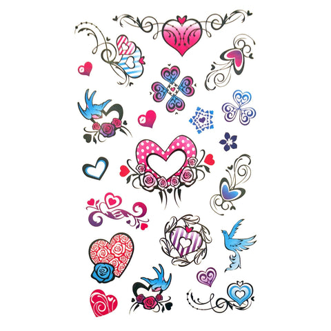Childrens Funky Design 2 Tattoo Sheet