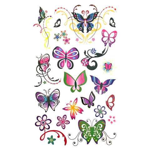 Childrens Funky Design 6 Tattoo Sheet