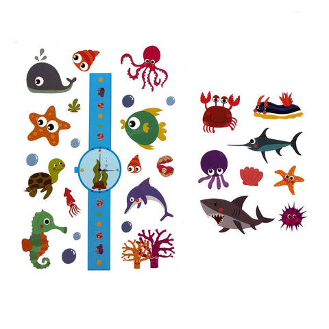 Temporary Tattoo - Kids Ocean Temporary Tattoo Pack