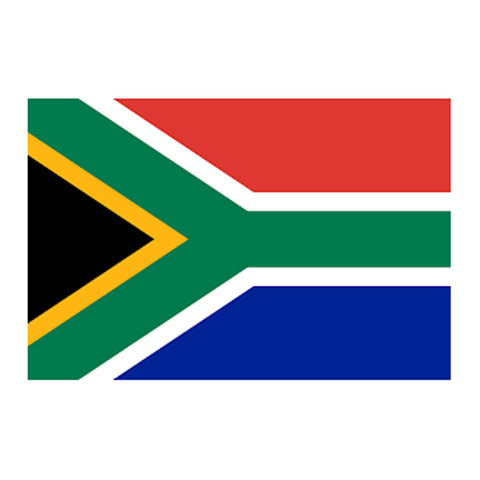 Temporary Tattoo - South African Flag Temporary Tattoo