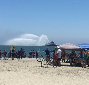 OUTRIGGER CANOE RACE IN LONG BEACH  CA