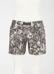 "Waterlites Boardshort  Black/White 10"" Inseam"