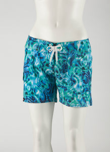"Waterlites Boardshort  Aqua/Blue  5"" Inseam"