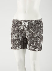 "Waterlites Boardshort  Black/White 5"" Inseam"