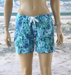 Waterlites Boardshort  Aqua/Teal