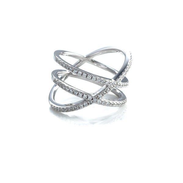 "Assymetric Double ""X"" Ring"