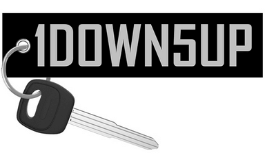 1DOWN5UP (Special edition) - Motorcycle Keychain