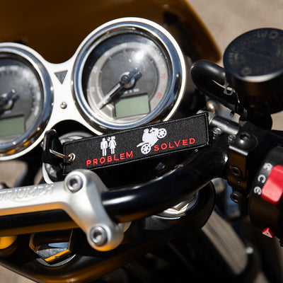 Problem Solved - Motorcycle Keychain