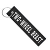Two-Wheel Beast - Motorcycle Keychain