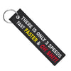 There Is Only Three Speeds - Motorcycle Keychain