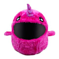 Motorcycle Helmet Cover - Pink Narwhal Image
