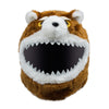 Motorcycle Helmet Cover - Angry Teddy
