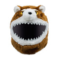 Motorcycle Helmet Cover - Angry Teddy Image