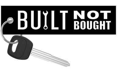 Built Not Bought - Motorcycle Keychain