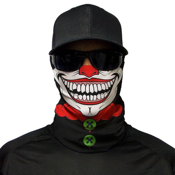 Motorcycle Face Mask - Joker