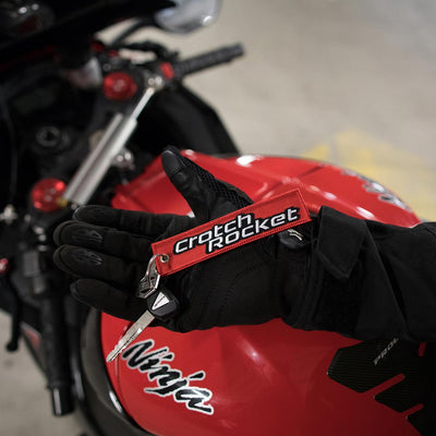 Crotch Rocket - Motorcycle Keychain