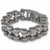 Motorcycle Chain Bracelet - Weathered Finish