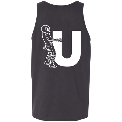 Motorcycle F-U Tank Top Dark Grey X-Small S M L XL 2XL