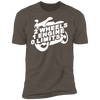 2 WHEELS 1 ENGINE 0 LIMITS T-SHIRT Warm Grey X-Small S M L XL 2XL 3XL 4XL