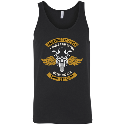Think Straight Tank Top Black X-Small S M L XL 2XL