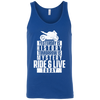Ride & Live Today Tank Top Blue X-Small S M L XL 2XL