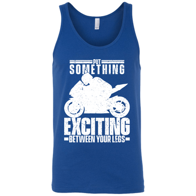 Between Your Legs Tank Top Blue X-Small S M L XL 2XL