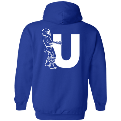 F-U Motorcyclist Hoodie Blue Small Medium Large X-Large XX-Large XXX-Large 4XL 5XL 6XL