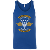 Think Straight Tank Top Blue X-Small S M L XL 2XL