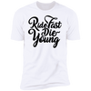 RIDE FAST DIE YOUNG T-SHIRT White X-Small S M L XL 2XL 3XL 4XL