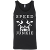 Speed Junkie Tank Top Black X-Small S M L XL 2XL