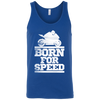 Born For Speed Tank Top Blue X-Small S M L XL 2XL