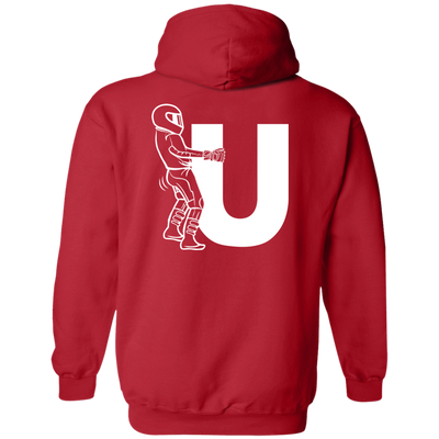 F-U Motorcyclist Hoodie Red Small Medium Large X-Large XX-Large XXX-Large 4XL 5XL 6XL