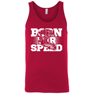 Born For Speed Tank Top Red X-Small S M L XL 2XL