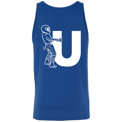 Motorcycle F-U Tank Top Blue X-Small S M L XL 2XL