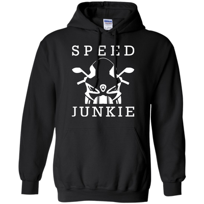 Speed Junkie Hoodie Black Small Medium Large X-Large XX-Large XXX-Large 4XL 5XL 6XL