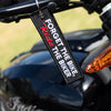 Forget The Bike, Ride The Biker - Motorcycle Keychain