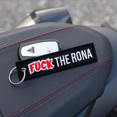 Fuck The Rona - Motorcycle Keychain