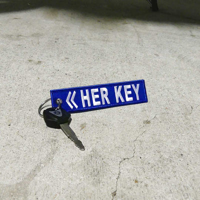 Her Key - Motorcycle Keychain