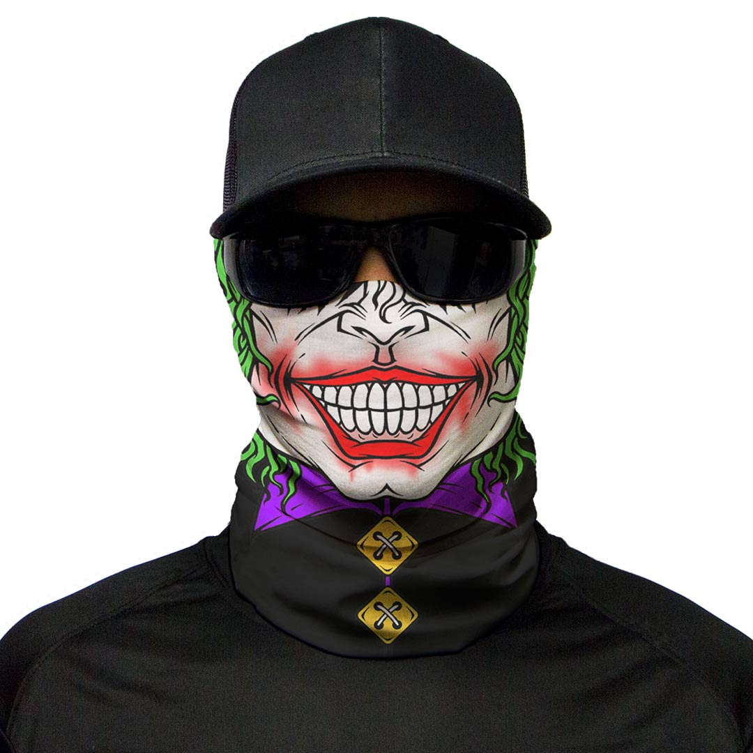 motorcycle face mask jester moto loot