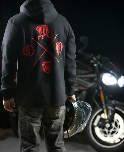 Live To Ride Scoop Pullover Hoodie