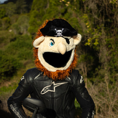 Motorcycle Helmet Cover - Pirate