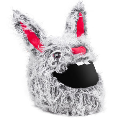 Motorcycle Helmet Cover - Evil Rabbit