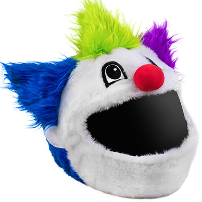Motorcycle Helmet Cover - Clown