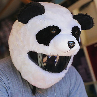 Motorcycle Helmet Cover - Panda