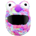 Motorcycle Helmet Cover - Rainbow Short Fur Image