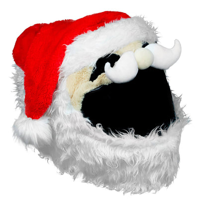 Motorcycle Helmet Cover - Santa