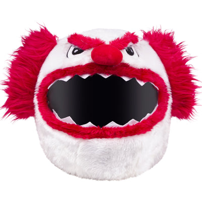 Motorcycle Helmet Cover - Scary Clown