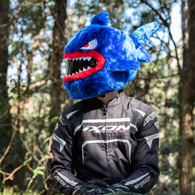 Motorcycle Helmet Cover - Shark