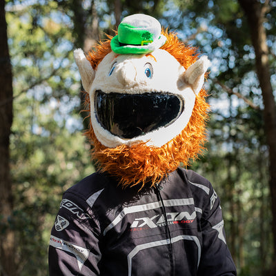 Motorcycle Helmet Cover - Leprechaun